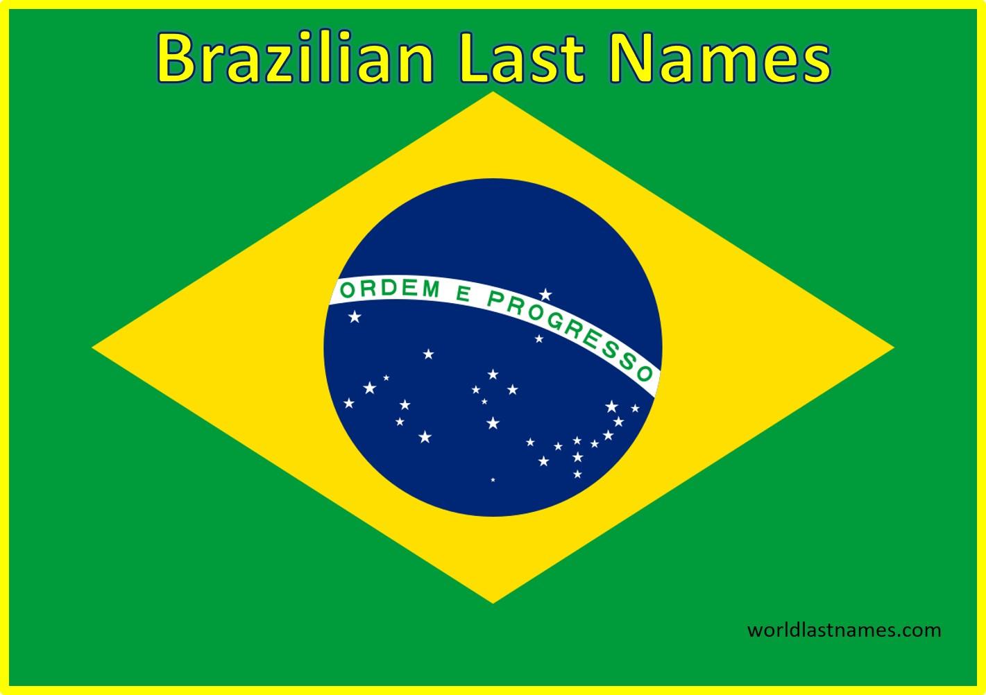 Brazilian Last Names