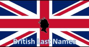 British Last Names
