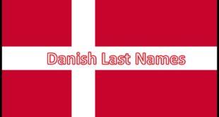 Danish Last Names