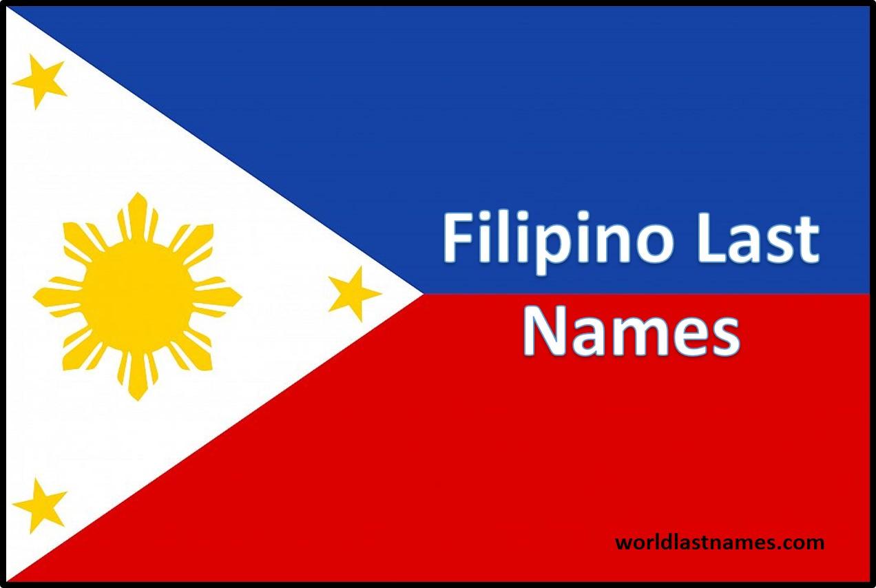 Filipino Last Names