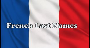 French Last Names