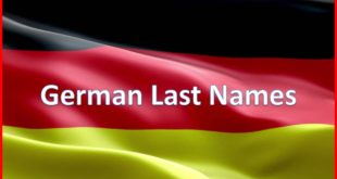German Last Names