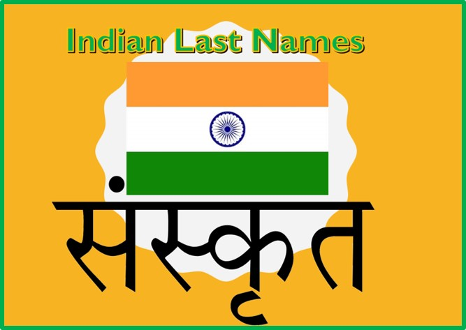 Indian Last Names