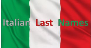 Italian Last Names