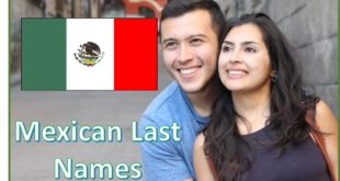 Mexican Last Names