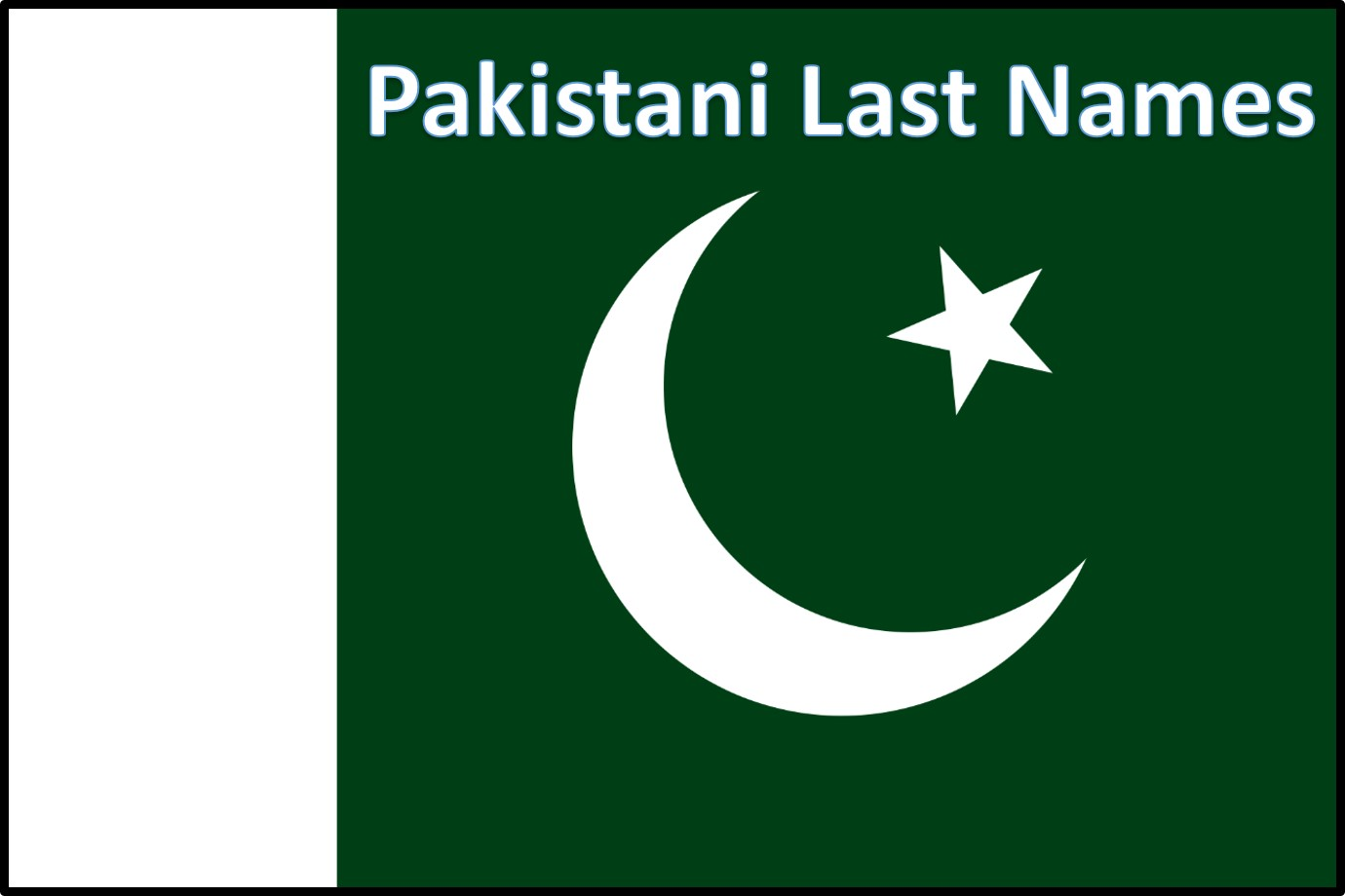 Pakistani Last Names