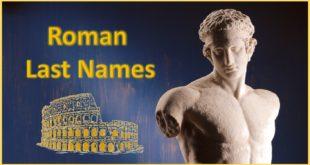 Roman Last Names