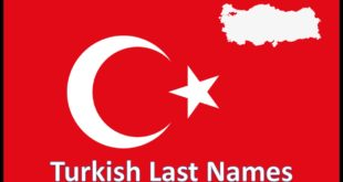 Turkish Last Names
