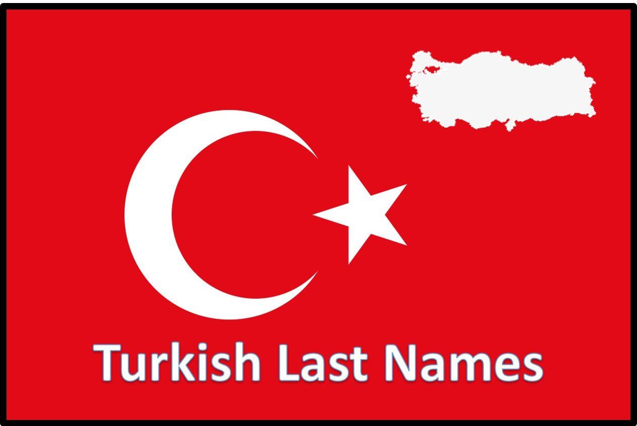 Turkish Last Names